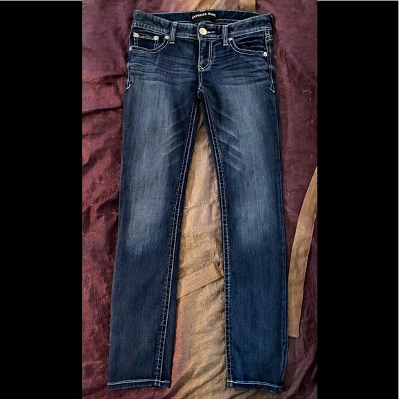 *SOLD* Express Stella Low Rise Skinny Jeans